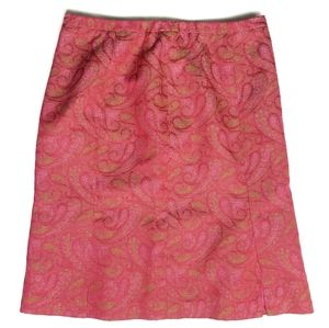 Etcetera Tapestry Paisley Skirt Size 10